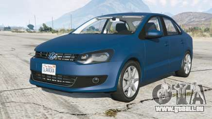 Volkswagen Polo sedan (Typ 6R) 2011 pour GTA 5