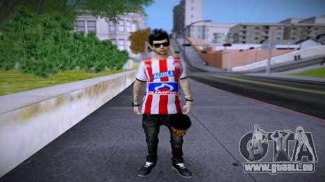 Skin Sornero Junior Mode FC pour GTA San Andreas