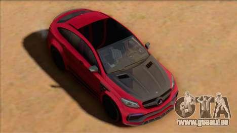 Mercedes-Benz GLE 2018 TopCar pour GTA San Andreas