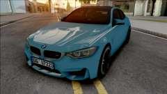 BMW M4 F82 2018 Blue