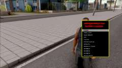 Manager Design v2.0 VIP für GTA San Andreas