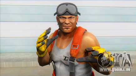 Dead Or Alive 5 - Bass Armstrong (Costume 2) V1 pour GTA San Andreas