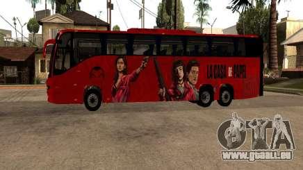 La Casa De Papel bus mod pour GTA San Andreas