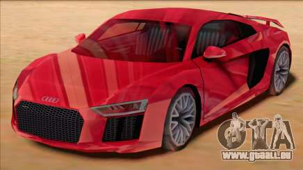Audi R8 2017 Stock pour GTA San Andreas