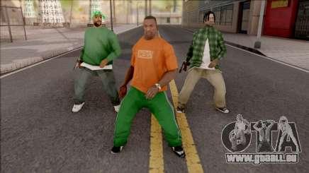 Dance Mod pour GTA San Andreas