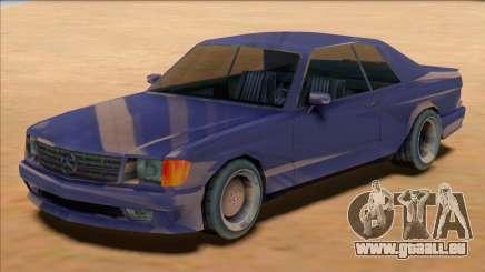 1991 Mercedes 560 SEC AMG [SA Style] für GTA San Andreas