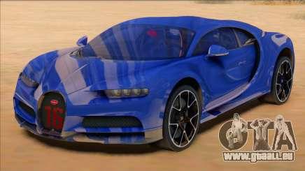 Bugatti Chiron Sport Blue pour GTA San Andreas