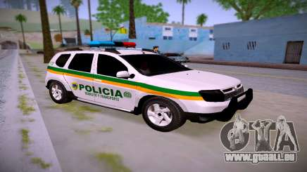 Duster Police Transit Colombie pour GTA San Andreas