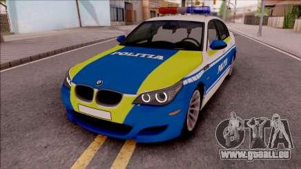 BMW M5 E60 Politia Romana Design 2020 pour GTA San Andreas