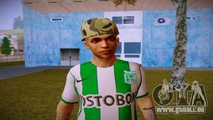 Skin De Paisa Moyenne Zarco pour GTA San Andreas