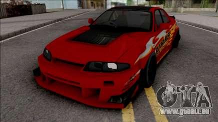 Nissan Skyline R33 Uras GT pour GTA San Andreas