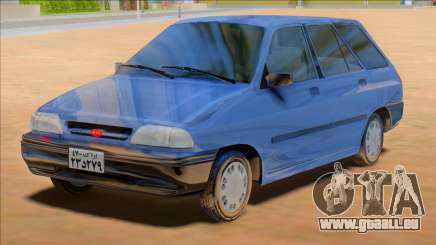 KIA Pride Wagon [Saipa Safari] pour GTA San Andreas