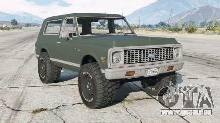 Chevrolet K5 Blazer (KS10514) 1972 pour GTA 5
