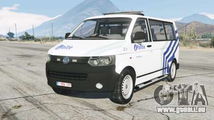 Volkswagen Transporter Kombi (T5) Politie pour GTA 5