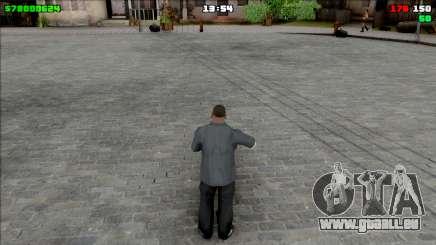 Simple HUD pour GTA San Andreas