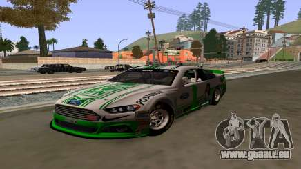 Ford Fusion Nascar: FC Skin National Athletic pour GTA San Andreas