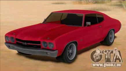 Chevrolet Chevelle SS Red für GTA San Andreas