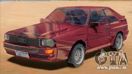 Audi Quattro B2 1991 pour GTA San Andreas