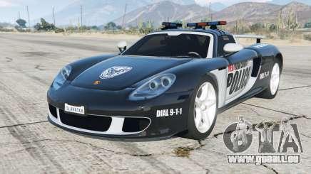 Porsche Carrera GT (980) Police pour GTA 5