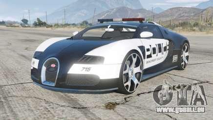 Bugatti Veyron Police pour GTA 5