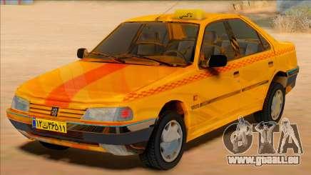Peugeot 405 Road taxi pour GTA San Andreas