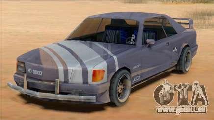 1991 Mercedes 560 SEC Insurgent [SA Style] pour GTA San Andreas
