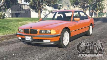 BMW 750i (E38) 199ⴝ pour GTA 5