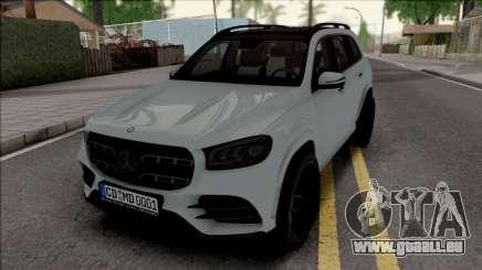 Mercedes-Benz GLS 2020 Grey pour GTA San Andreas