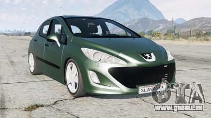 Peugeot 308 HDi 5-door (T7) 2010 pour GTA 5