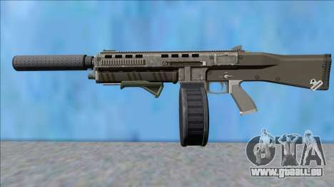 GTA V Vom Feuer Assault Shotgun Platinum V13 für GTA San Andreas