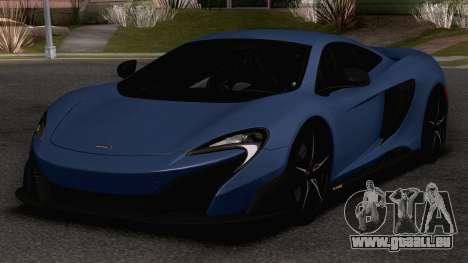 2020 McLaren 675LT pour GTA San Andreas
