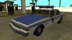 Chevrolet Caprice 1987 NYPD Transit Police für GTA San Andreas