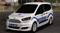 Ford Tourneo Courier Traffic Police pour GTA San Andreas