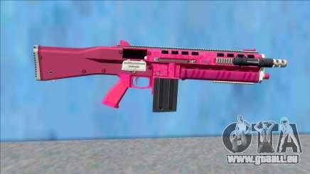GTA V Vom Feuer Assault Shotgun Pink V12 für GTA San Andreas