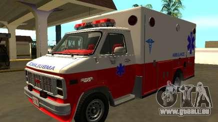 GMC Vandura 1985 Krankenwagen für GTA San Andreas