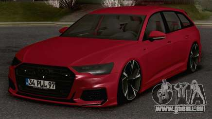 Audi A6 Avant S-Line pour GTA San Andreas