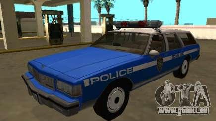 Chevrolet Caprice 1987 SW New York Police Dept pour GTA San Andreas