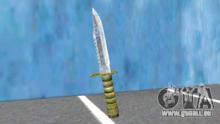 Combat Knife RE2R And RE3R pour GTA San Andreas