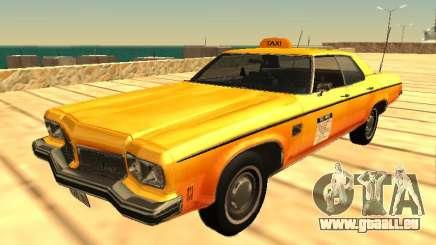 Oldsmobile Delta 88 1973 taxi pour GTA San Andreas
