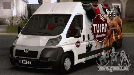 Peugeot Boxer (Turkish Bakery Car) pour GTA San Andreas