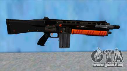 GTA V Vom Feuer Assault Shotgun Orange V12 pour GTA San Andreas
