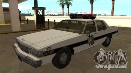 Chevrolet Caprice 1987 Eaton County Sheriff Patr pour GTA San Andreas