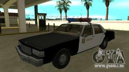 Chevrolet Caprice 1987 Comté de Los Angeles Sherif pour GTA San Andreas