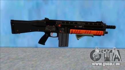 GTA V Vom Feuer Assault Shotgun Orange V10 pour GTA San Andreas
