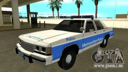 Ford LTD Crown Victoria 1991 Massachusetts Metro pour GTA San Andreas