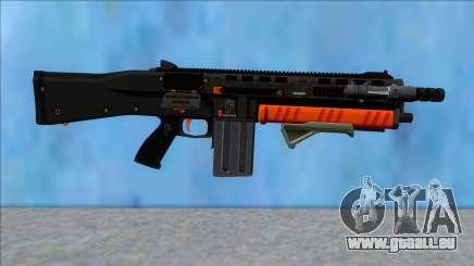 GTA V Vom Feuer Assault Shotgun Orange V6 pour GTA San Andreas