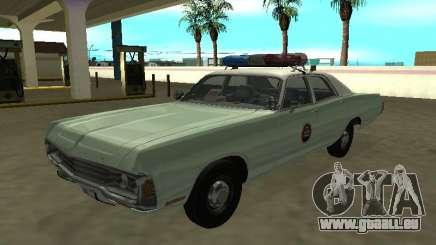 Dodge Polara 1972 Patrouille frontalière américaine pour GTA San Andreas