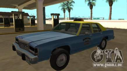 Ford LTD Crown Victoria taxi Downtown Cab Co pour GTA San Andreas