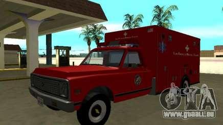 Chevrolet C-10 1972 Ambulance pour GTA San Andreas