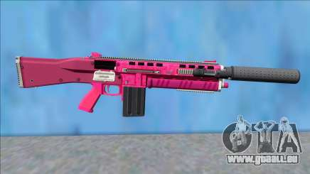GTA V Vom Feuer Assault Shotgun Pink V2 für GTA San Andreas